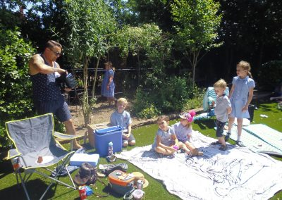 Picnic and Magic Show